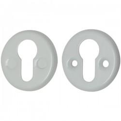 Накладка на цилиндр FIN 016-СL, белая