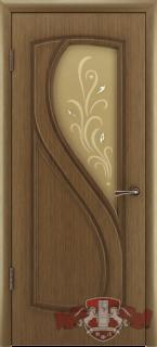 """Межкомнатная дверь """"Грация"""", по, орех"""