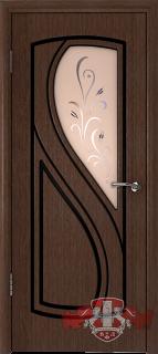 """Межкомнатная дверь """"Грация"""", по, венге"""