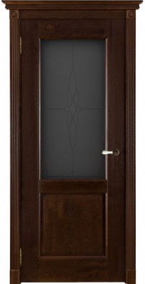 """Межкомнатная дверь """"Селена"""", по, античный орех"""