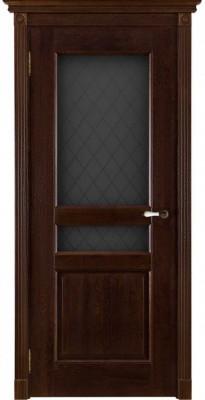 """Межкомнатная дверь """"Виктория"""", по, античный орех"""