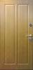 """Стальная дверь  """"Дива"""", дуб"""