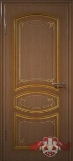 """Межкомнатная дверь """"Версаль"""", пг, орех"""