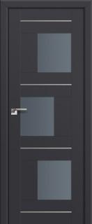 Межкомнатная дверь 13U, антрацит