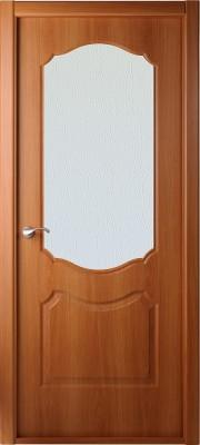 """Межкомнатная дверь """"Перфекта"""", по, рис. Диамант, миланский орех"""
