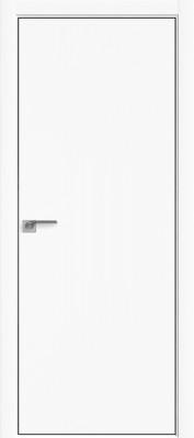 "Межкомнатная дверь ""1 Е"", Аляска, кромка 4 стор. ABS ЧЕРНАЯ, Eclipse"