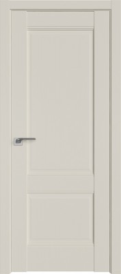 Межкомнатная дверь 1U,  магнолия сатинат