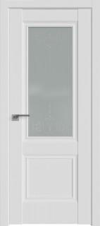 """Межкомнатная дверь 2.37U, аляска, стекло """"Франческо"""""""