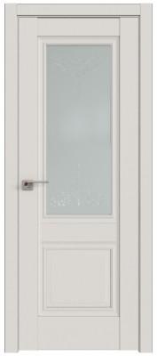 """Межкомнатная дверь 2.37U, Дарквайт, стекло """"Франческо"""""""