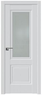 Межкомнатная дверь 2.37U, аляска, ст. матовое