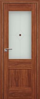 "Межкомнатная дверь ""2х"", по, орех амари"