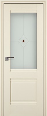 """Межкомнатная дверь """"2х"""", по, эш вайт"""