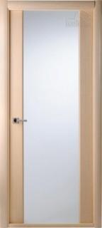 """Межкомнатная дверь """"Грандекс 202"""", по, беленый дуб"""