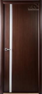"""Межкомнатная дверь """"Грандекс 208"""", по, венге"""