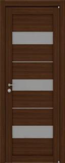 """Межкомнатная дверь """"2126"""", по, орех вельвет"""