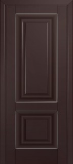 Межкомнатная дверь 27U, темно-коричневый матовый