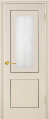 """Межкомнатная дверь """"28х"""", по, белый ясень"""