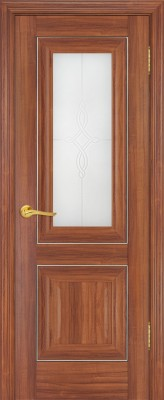 "Межкомнатная дверь ""28х"", по, орех амари"