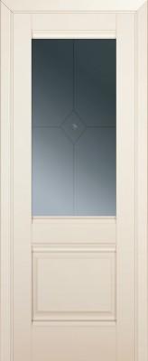 Межкомнатная дверь 2U, магнолия сатинат