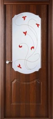 """Межкомнатная дверь """"Перфекта"""", по, рис.14, каштан золотистый"""