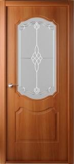 """Межкомнатная дверь """"Перфекта"""", по, миланский орех"""