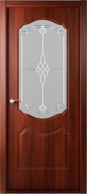 """Межкомнатная дверь """"Перфекта"""", по, итальянский орех"""