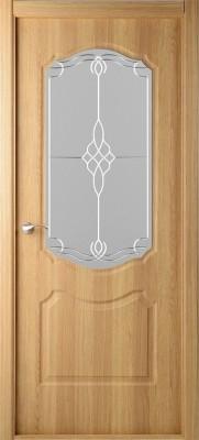 """Межкомнатная дверь """"Перфекта"""", по, дуб английский"""