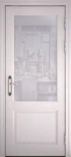 """Межкомнатная дверь """"40004"""", по, ясень перламутр"""