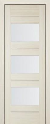 """Межкомнатная дверь """"41X"""", по, мелинга ясень белый"""