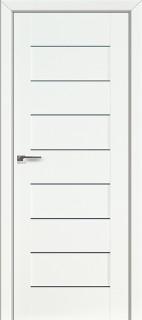 Межкомнатная дверь 45L, белый люкс