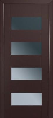 Межкомнатная дверь 46U, темно-коричневый матовый