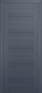Межкомнатная дверь 48U, антрацит