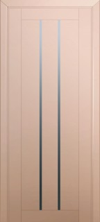 Межкомнатная дверь 49U, капучино сатинат