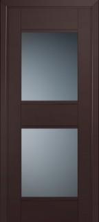 Межкомнатная дверь 51U, темно-коричневый матовый