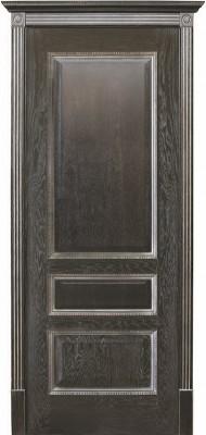 """Межкомнатная дверь """"Вена"""", пг, черная патина"""