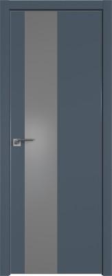 """Межкомнатная дверь """"5 Е"""", антрацит, мат. с 4-х сторон"""