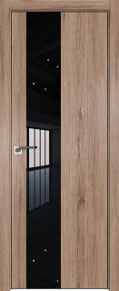 Межкомнатная дверь 5ZN, салинас светлый, кромка Black Edition с 4х сторон, Eclipse