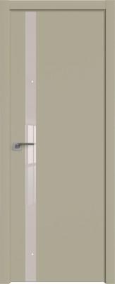 """Межкомнатная дверь """"6 Е"""", Шеллгрей, кромка ABS"""