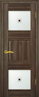 """Межкомнатная дверь """"6х"""", по, орех сиена"""