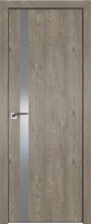 Межкомнатная дверь 6ZN, Каштан темный, матовая с 4-х сторон