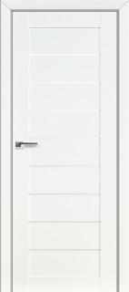 Межкомнатная дверь 73L, белый люкс