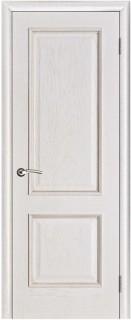 """Межкомнатная дверь """"Шервуд"""", пг, белая патина"""
