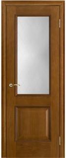 """Межкомнатная дверь """"Шервуд"""", стекло """"Классик"""", античный дуб"""