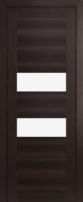"""Межкомнатная дверь """"77X"""", по, венге мелинга"""