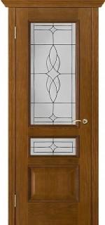 """Межкомнатная дверь """"Вена"""", по, античный дуб"""