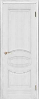 """Межкомнатная дверь """"Ницца"""", пг, серебряная патина"""
