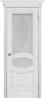 """Межкомнатная дверь """"Ницца"""", по, серебряная патина"""