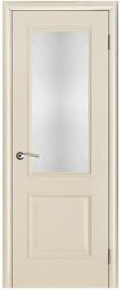 """Межкомнатная дверь """"Версаль"""", стекло """"Классик"""", ваниль патина"""