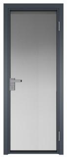 Межкомнатная дверь AG - 1 антрацит, мателюкс
