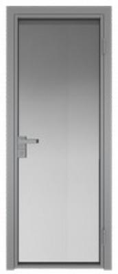 Межкомнатная дверь AG - 1 серый, мателюкс